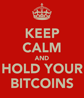 Bitcoin Buy Sell Hold - in it for the long term.