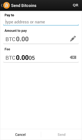 Bitcoin Send at BitCoinPam