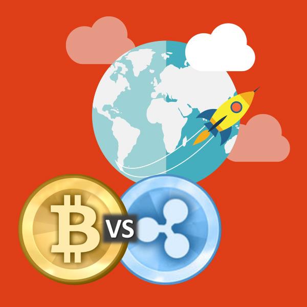 Bitcoin versus Ripple - more at BitcoinPam
