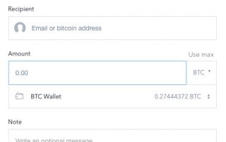 Bitcoin Wallet - Coinbase Send/Receive